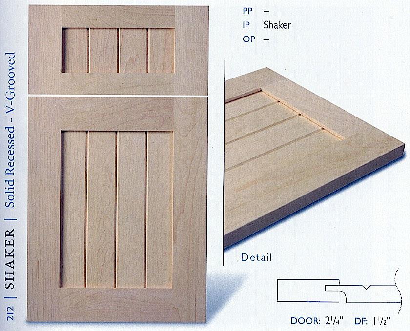 200 series kitchen cabinet door profiles