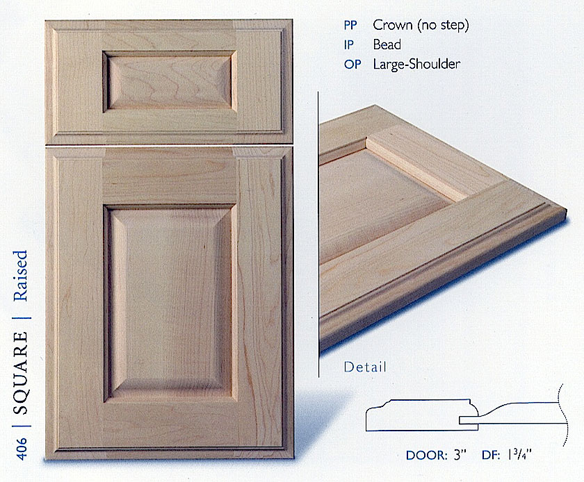 400 Series Cabinet Door Profiles