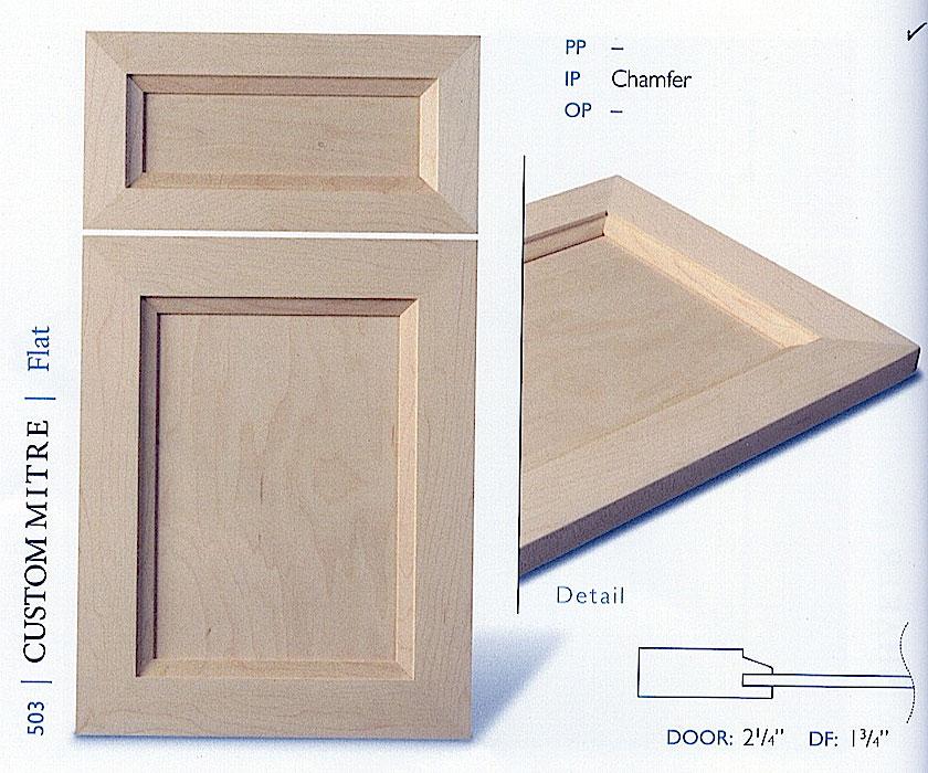 500 series cabinet door profiles