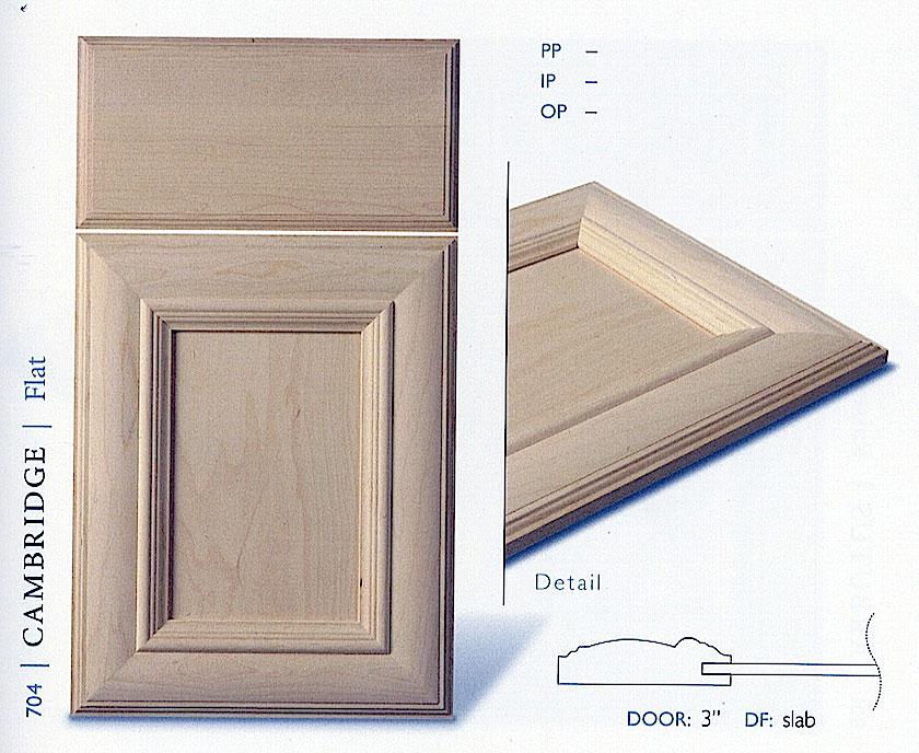 700 Series Cabinet Door Profiles