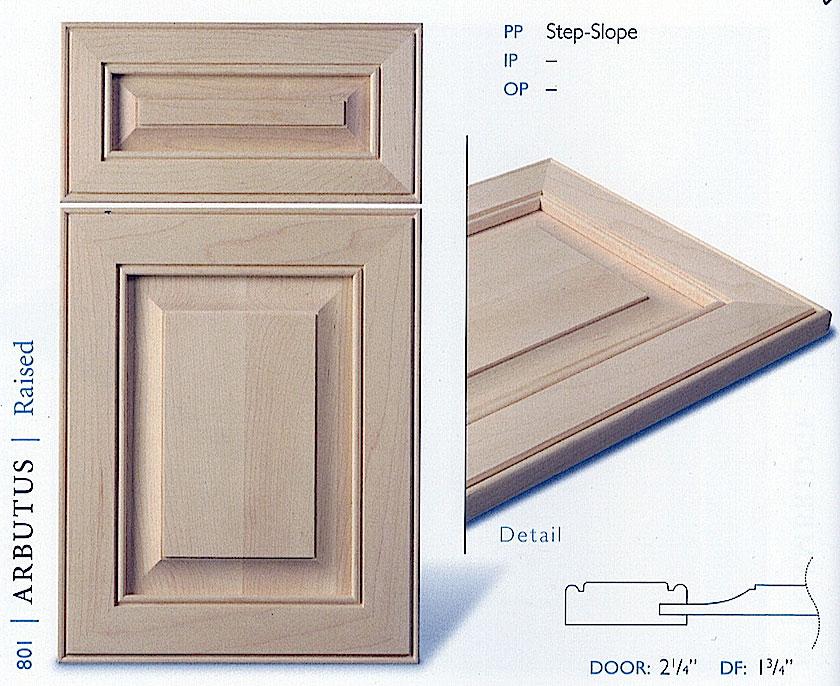 800 series cabinet door profiles