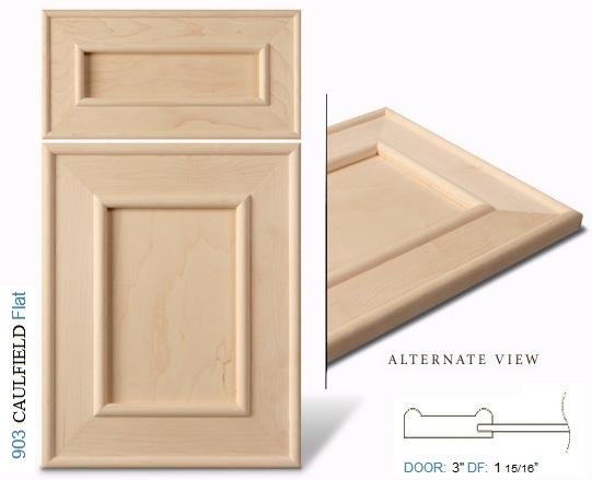 900 series cabinet door profiles