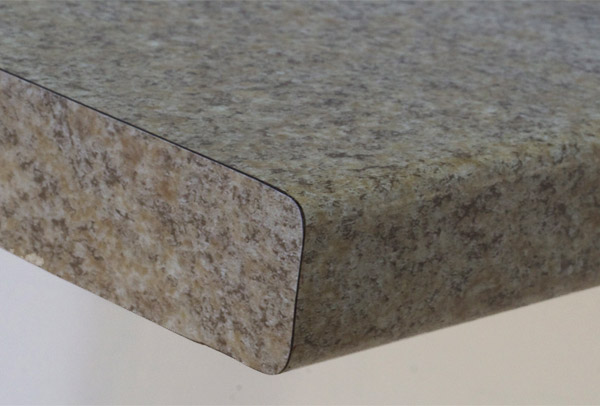Countertop Eased Edge Profile : Edge Profiles