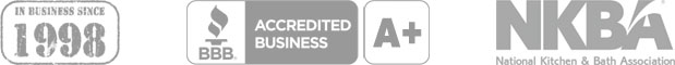 In Business Since 1998, BBB A+ Accredited Business, Member of National Kitchen & Bath Association