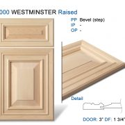 1000 WESTMINSTER Raised