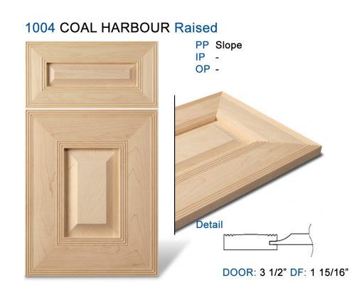 1004 COAL HARBOUR Raised