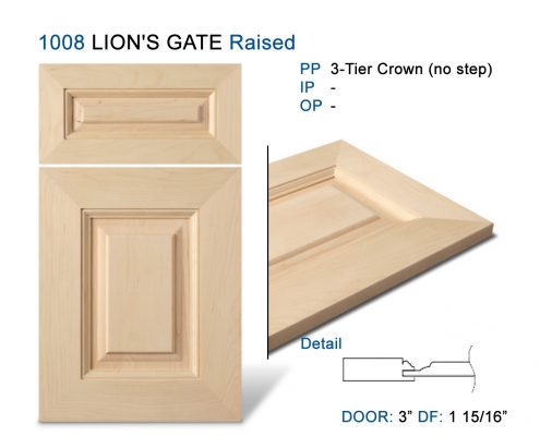 1008 LION'S GATE Raised