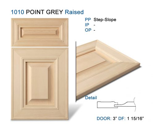 1010 POINT GREY Raised