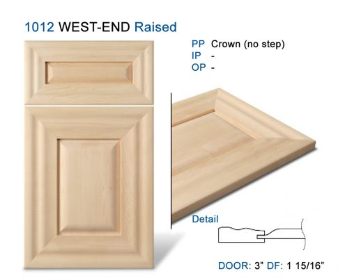 1012 WEST-END Raised