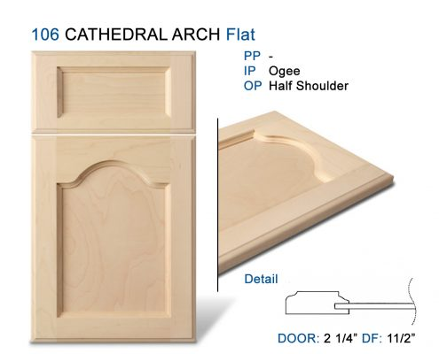 106 CATHEDRAL ARCH Flat