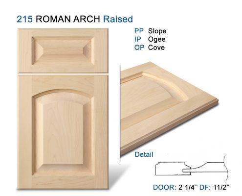 215 ROMAN ARCH Raised