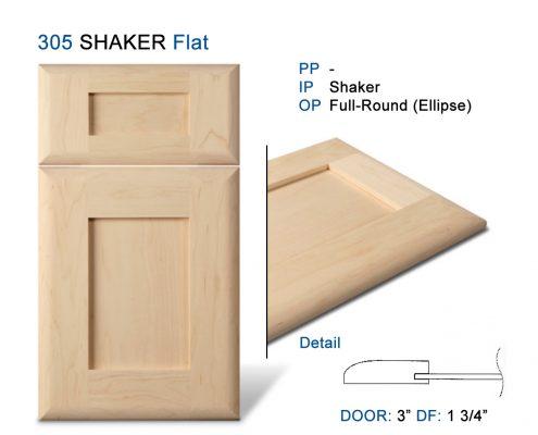 305 SHAKER Flat