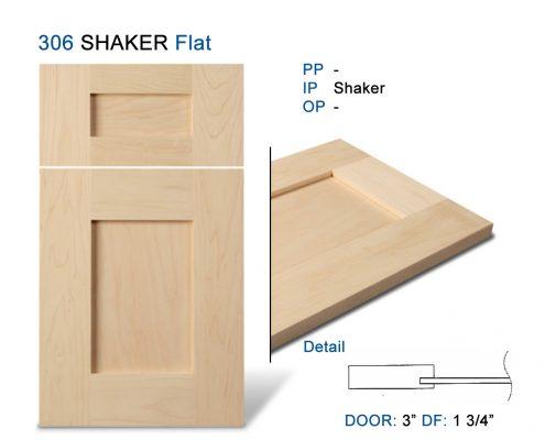 306 SHAKER Flat