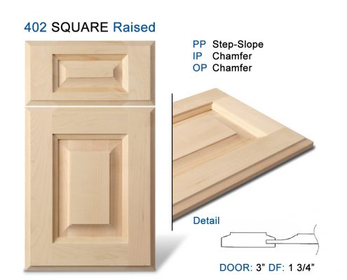 402 SQUARE Raised