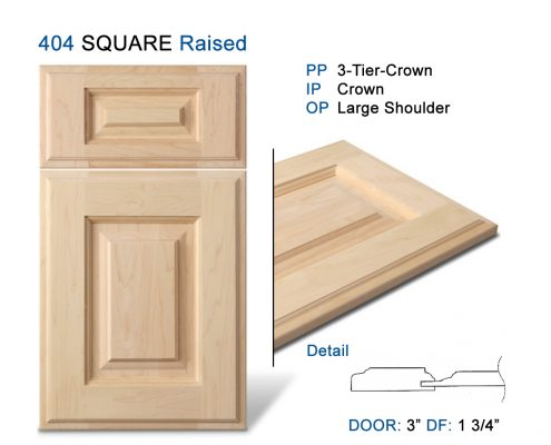 404 SQUARE Raised