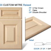 600 CUSTOM MITRE Raised