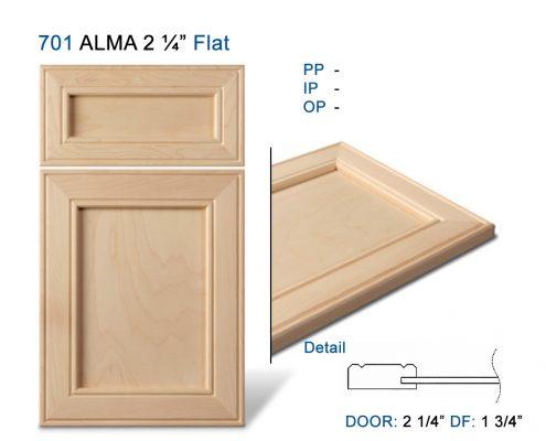 """701 ALMA 2 ¼"""" Flat"""