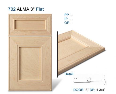 """702 ALMA 3"""" Flat"""