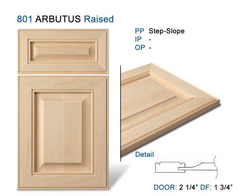 801 ARBUTUS Raised