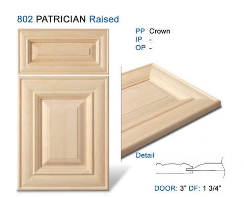 802 PATRICIAN Raised