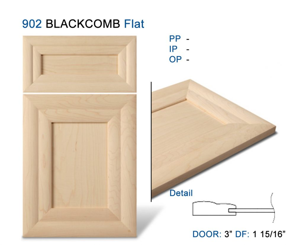 Mitre Cabinet Doors Formed Moulding Alternative