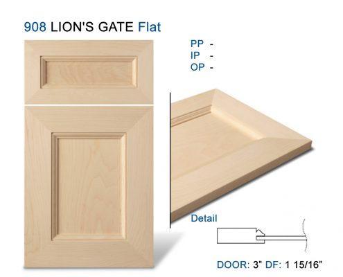 908 LION'S GATE Flat