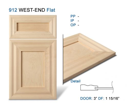 912 WEST-END Flat