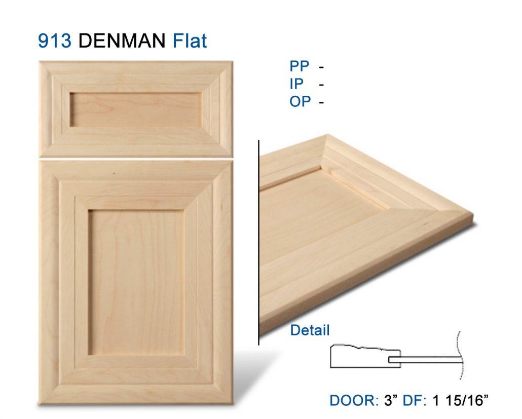 Mitre Cabinet Doors Formed Moulding Alternative