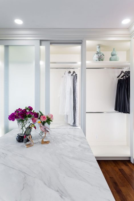 Eyremount Project walk-in closet